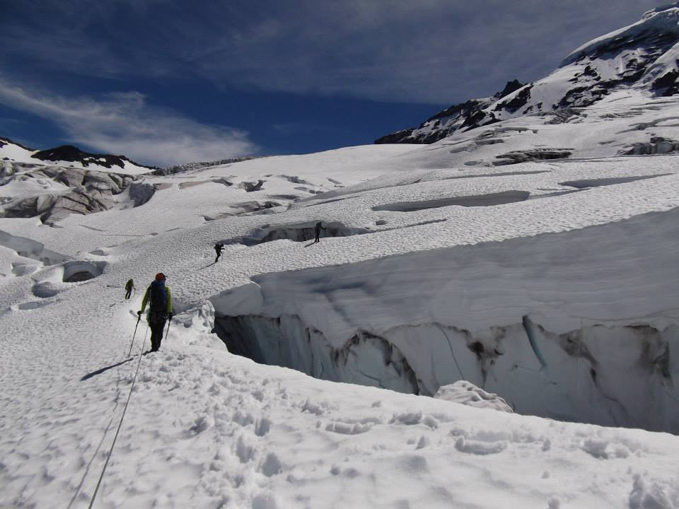 Alpine Ice Climbing Course – 2014. Photo taken by someone in my course.